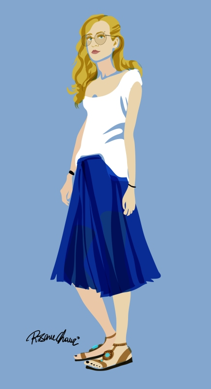 carla aouad model fashion full body rosane chawi