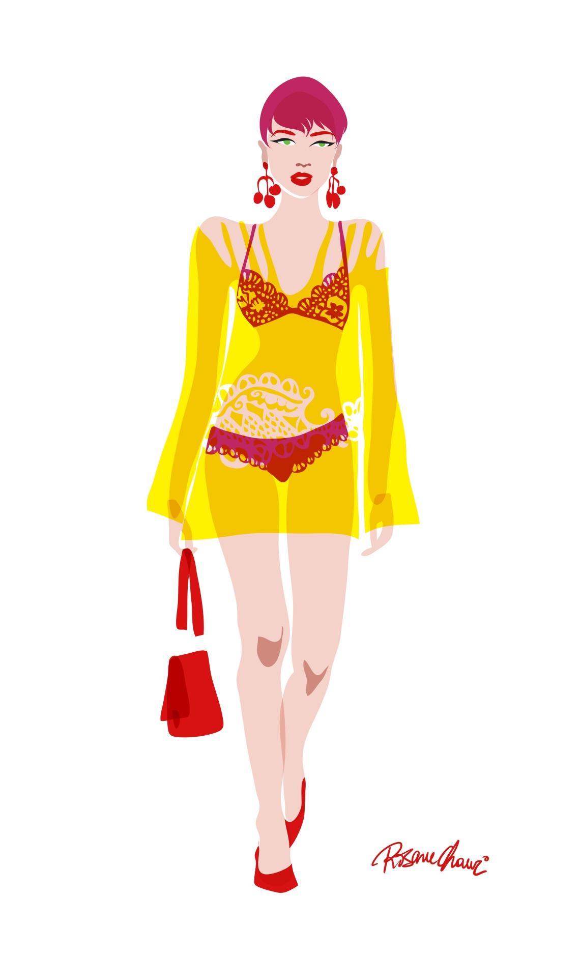 model 2 rosane chawi fashion
