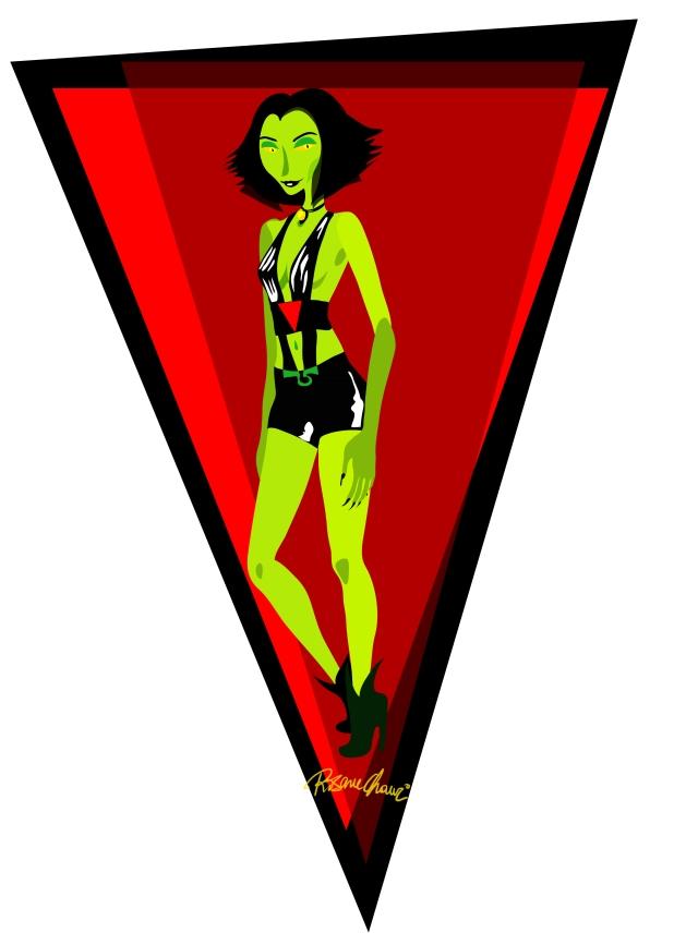 Mélanie Catanal Rosane Chawi Mélodie Bloo Devil woman