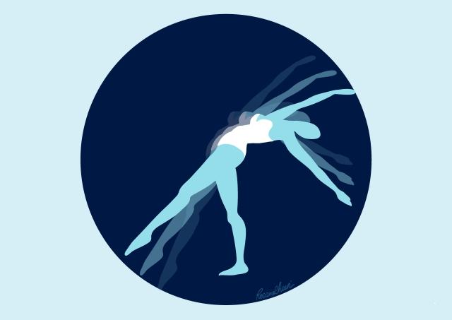 ballet logo rosane chawi épurée